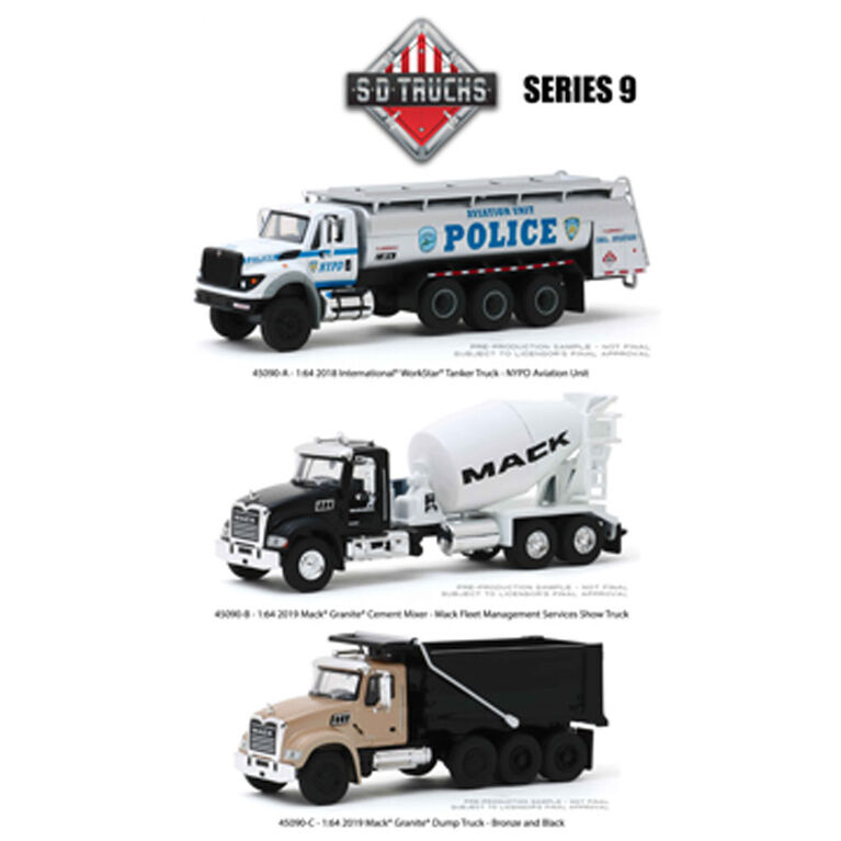 S.D. TRUCKS SERIES 9 2019 MACK GRANITE DUMP TRUCK