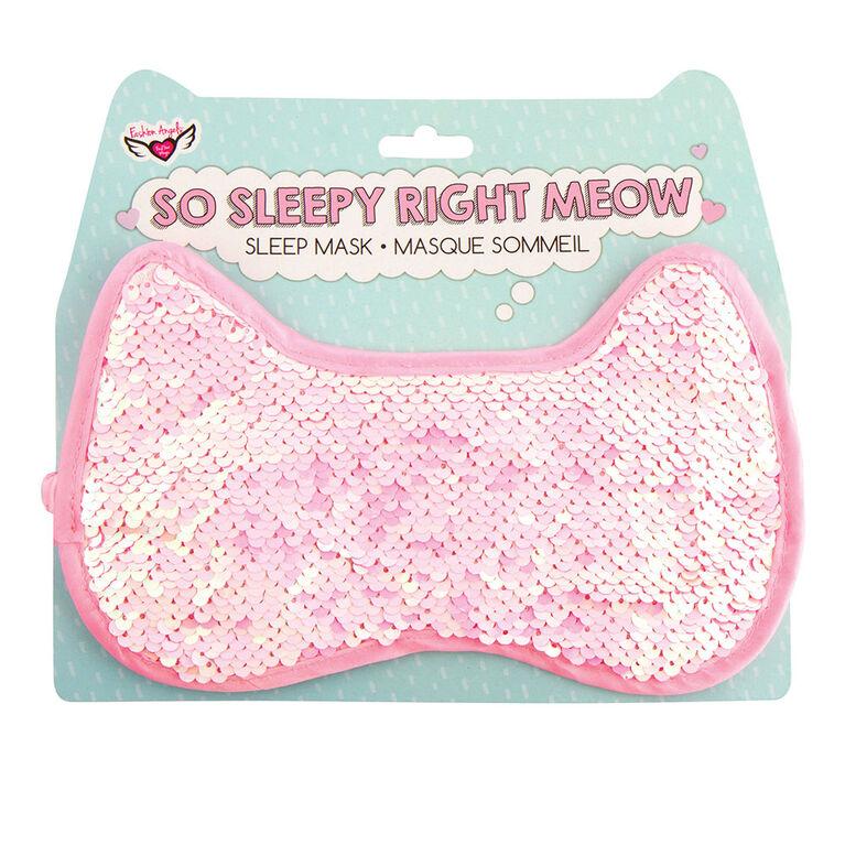 Fashion Angels - Magic Sequin Sleep Mask - Kitty