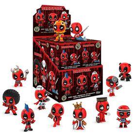 Figurines miniatures  Mystery Minis  Marvel de Funko - 1 personnages de la collection Mystery  sélectionnés au hasard réunis dans une même boîte.