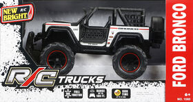 New Bright 1:15 Scale RC Chargers Ford Bronco - White