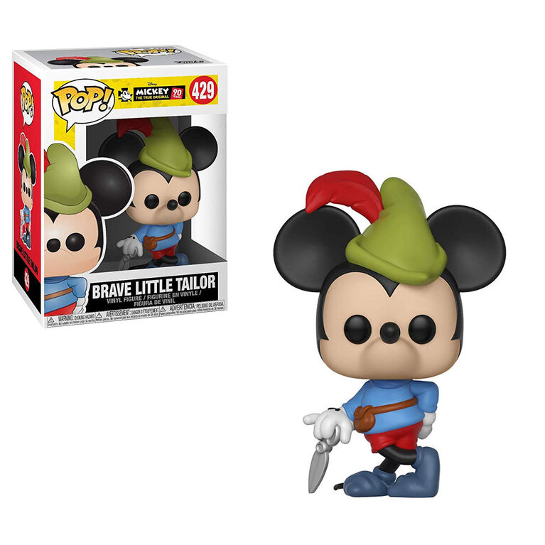 Funko POP! Disney: Mickey's 90th - Brave Little Tailor Vinyl Figure