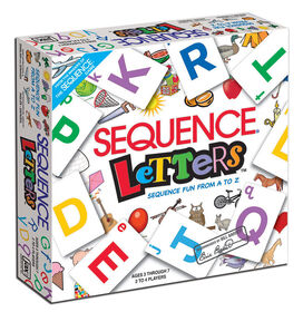JAX: Sequence Letters Board Game - English Edition