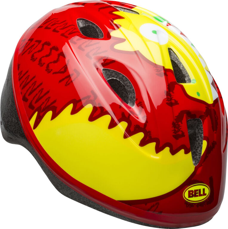 Bell Sports - Sprout Infant Helmet Red/Yellow Dino