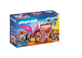 Playmobil - Marla and Del with Flying Horse