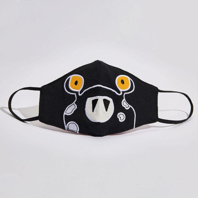 kidcare – Masque facial en tissu pour l'usage quotidien – Monstre