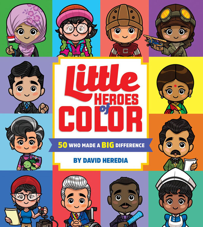 Little Heros Of Color - Édition anglaise