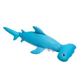 Flotteur en forme de requin marteau pour piscines - Bleu