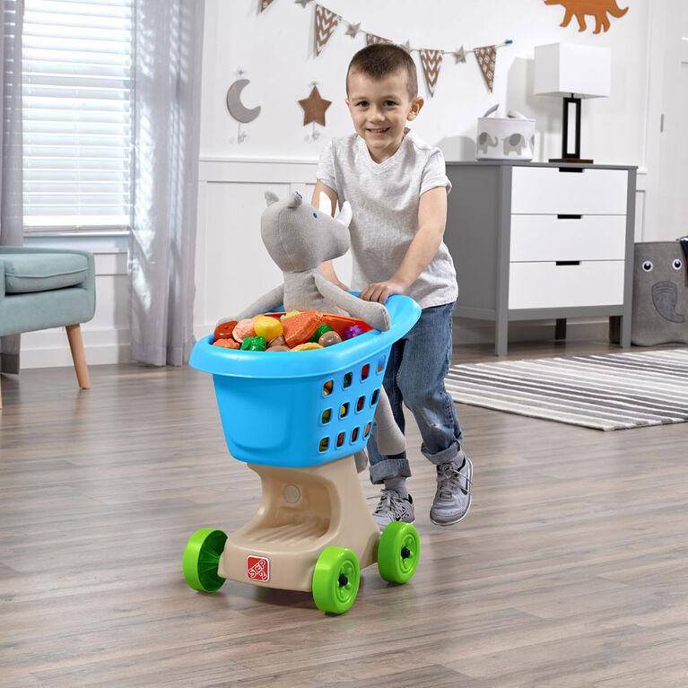 Step2: Little Helper's Shopping Cart (Blue)