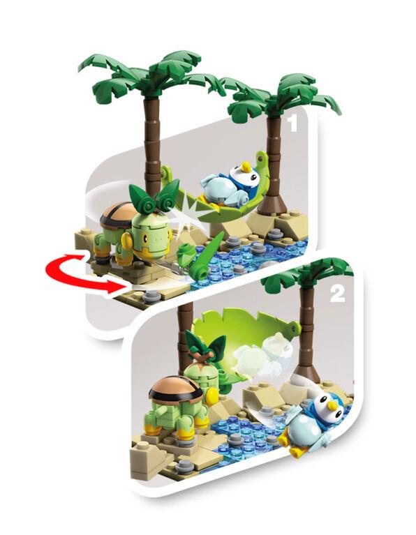 Mega Construx - Pokémon - Tiplouf vs Tortipouss