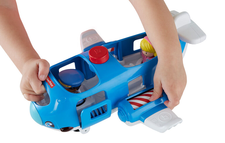 Fisher-Price Little People Travel Together Airplane - French Edition
