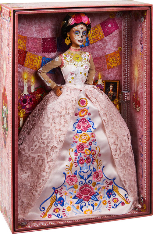 Barbie Signature Dia De Muertos 2020 Doll - 12 inch doll in Dress and Flower Crown