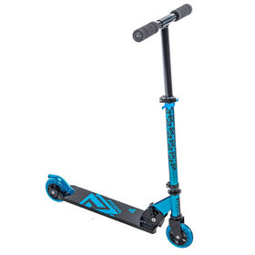 Huffy Prizm Folding 100mm Inline Scooter, Blue - R Exclusive