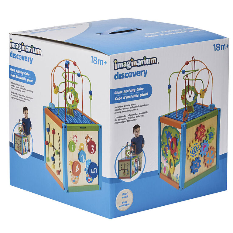 Imaginarium Discovery - Giant Activity Cube - R Exclusive