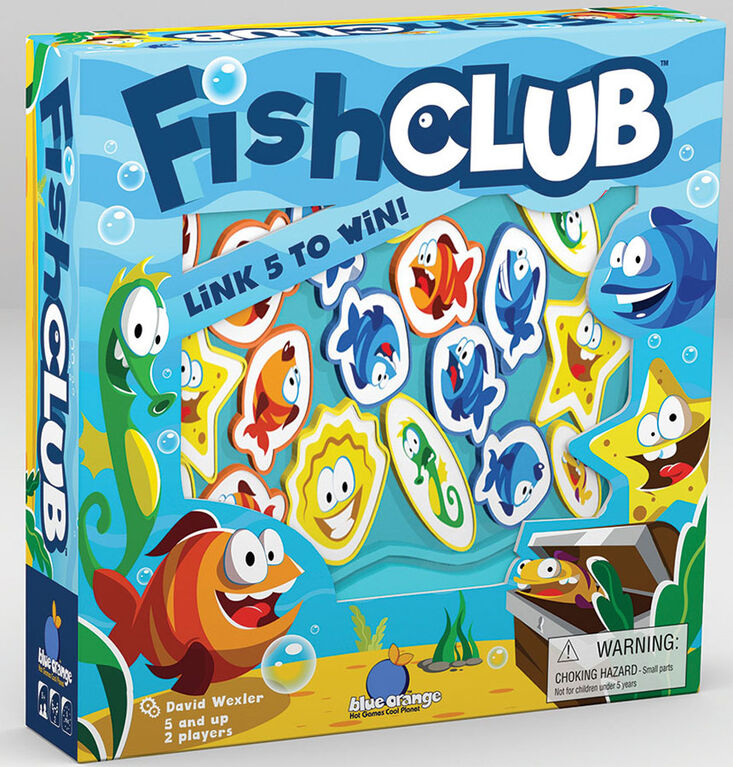 Blue Orange Games - Fish Club - Édition anglaise