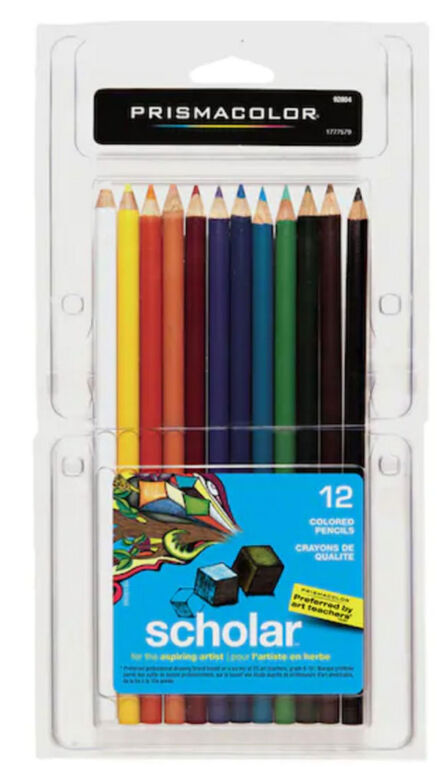 Prismacolor Scholar Coloured Pencils