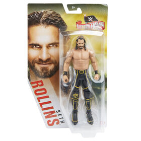 WWE - Wrestlemania - Figurine articulee - Seth Rollins