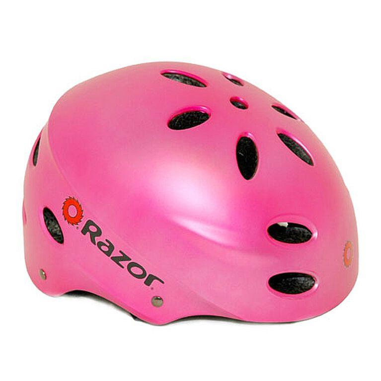 Razor - Multi Sport Youth Helmet - Satin Pink