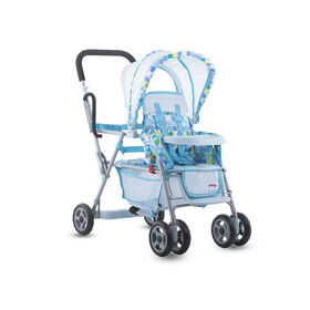 Joovy Toy Caboose Stroller - Blue