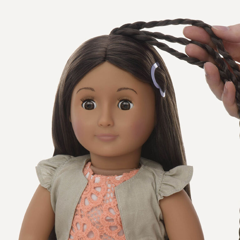 Our Generation, Flora, From Hair To There, 18-inch Hair Play Doll - English Edition