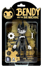 """Bendy and the Ink Machine - Ink Bendy 5"""" Figure."""