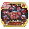 Bakugan, GeoForge Dragonoid, 7 en 1, inclut un Dragonoid True Metal exclusif et 6 Bakugan Geogan à collectionner