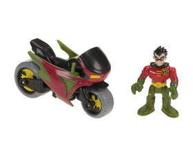 Fisher-Price Imaginext - DC Super Friends Robin & Cycle - English Edition