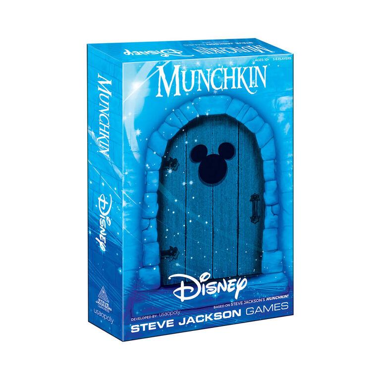 MUNCHKIN: Disney Jeu De Cartes - Édition anglaise