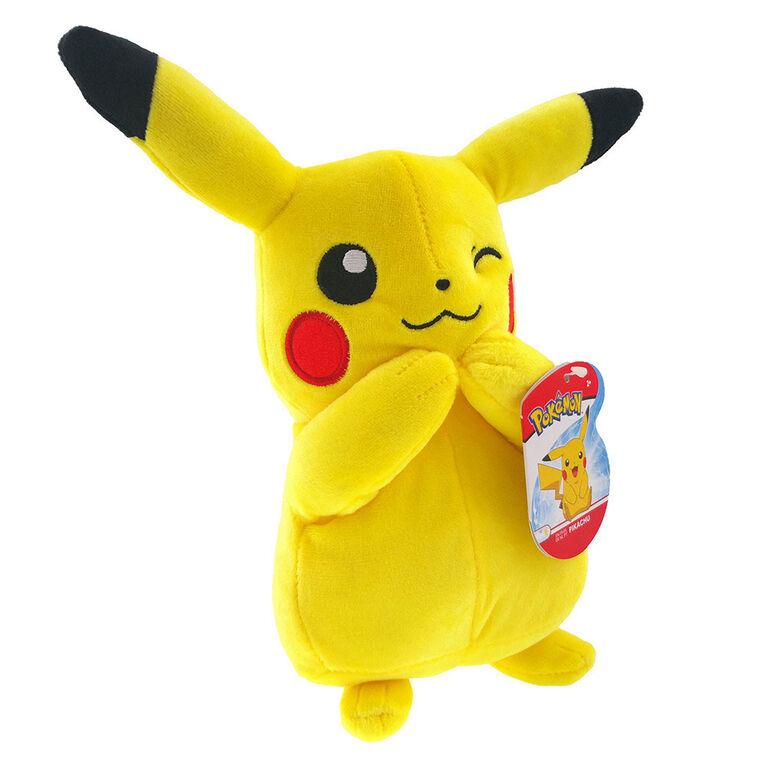 Peluche Pokémon de 20 cm - Pikachu - Édition anglaise