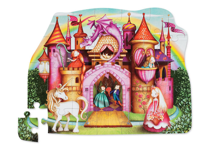 Crocodile Creek - Princess Palace 32 PC Floor Puzzle