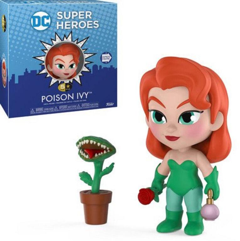 Figurine en vinyle Poison Ivy de DC Super Heroes par Funko 5 Star!.