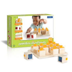 Guidecraft Peekaboo Soundboxes