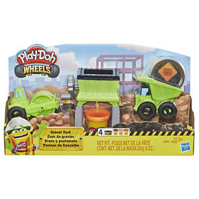 Play-Doh Wheels Gravel Yard Construction