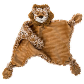 Mary Meyer Afrique Lion Character Blanket 13 inch x 13 inch