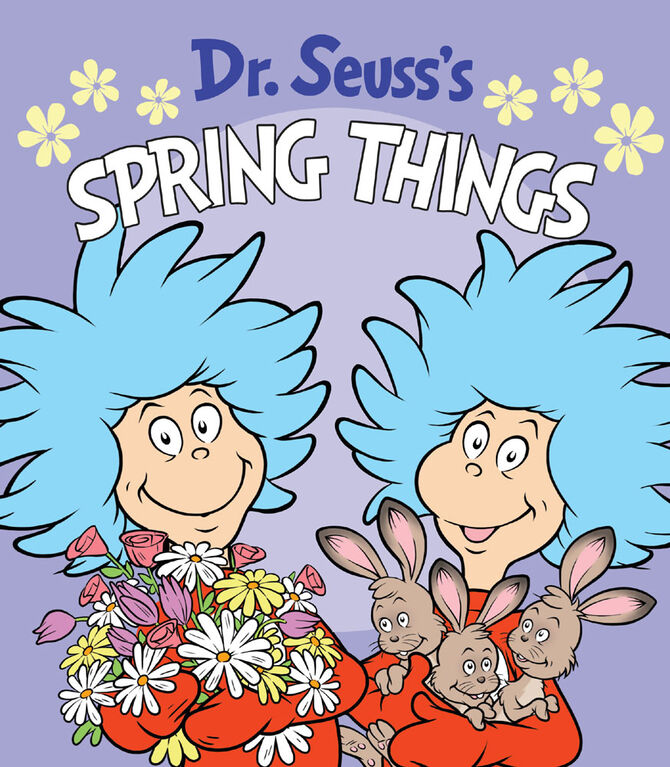 Dr. Seuss's Spring Things - Édition anglaise