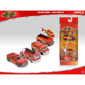 Fast Lane -  Emergency Vehicles 5 Pack