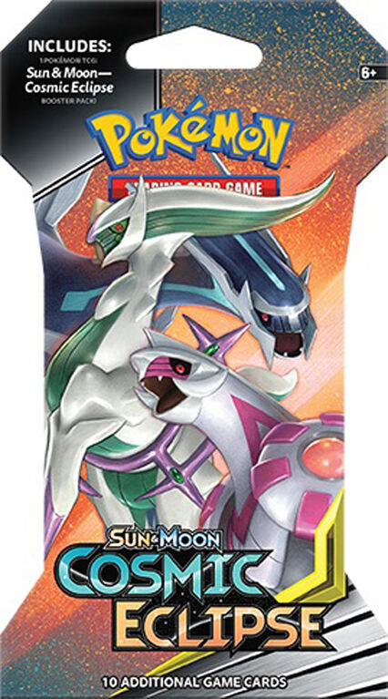 "Pokemon Sun & Moon 12 ""Cosmic Eclipse"" Sleeved Booster"
