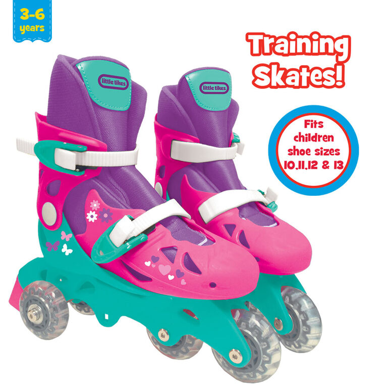 Little Tikes - 2-in-1 Training Skate - Pink