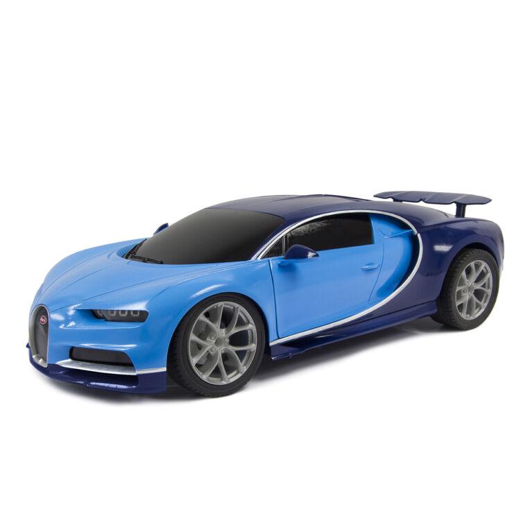 Fast Lane RC – Voiture de sport téléguidée 1:16 – Blue Bugatti 27MHz
