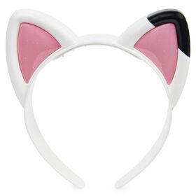 DreamWorks, Gabby's Dollhouse, Magical Musical Cat Ears avec lumières, musique, sons et répliques