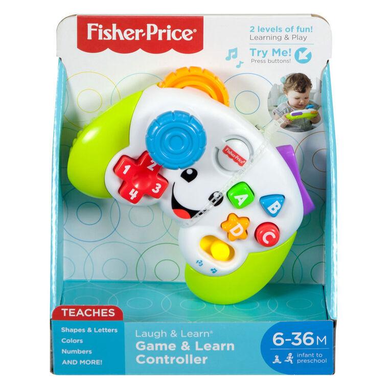 Fisher-Price - Rires et Éveil - Manette de jeu éducative - Édition anglaise