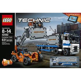 LEGO Technic Le transport des conteneurs 42062