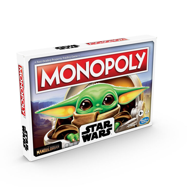 "Monopoly: Star Wars The Child Edition Board Game for Families Featuring The Child, Who Fans Call ""Baby Yoda"""