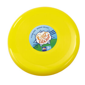 "Out and About 10"" Flying Disc Yellow"