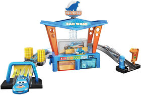 Disney Pixar Cars Color Change Dinoco Car Wash Playset