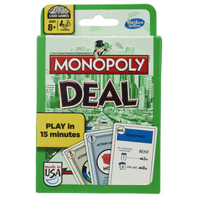 Hasbro Gaming Jeu de cartes Monopoly Deal