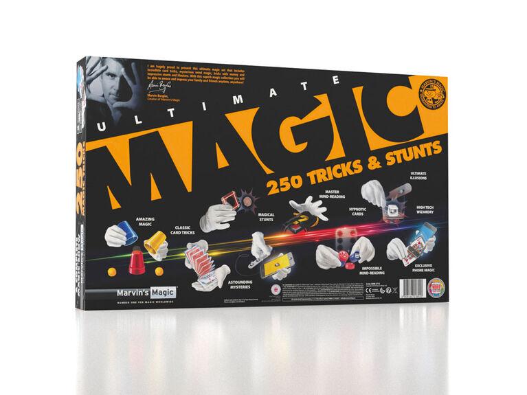 Marvin's Magic Ultimate Tricks & Stunts 250 set - styles may vary