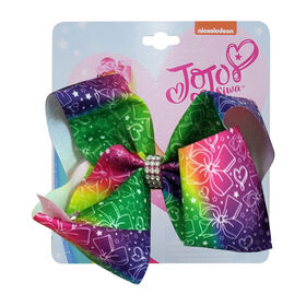 Jojo Siwa Bow Green and Purple