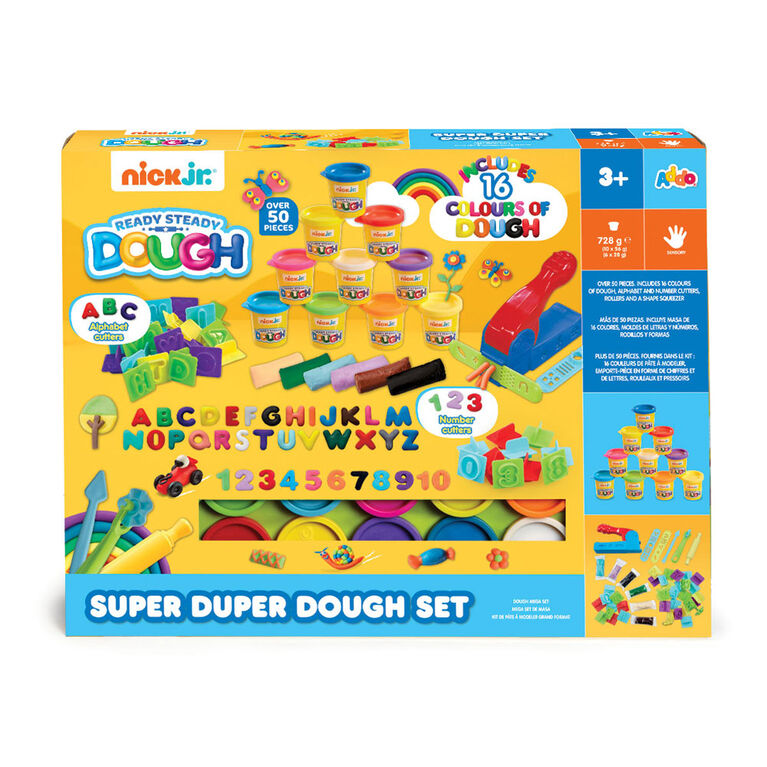 Nick Jr. Ready Steady Dough Super Duper Dough Set - R Exclusive
