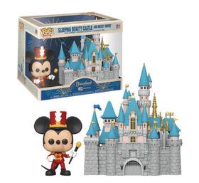 Figurine en Vinyle Sleeping Beauty Castle and Mickey Mouse par Funko POP! Disneyland 65th