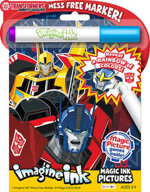 Transformers Imagine Ink Magic Ink Pictures